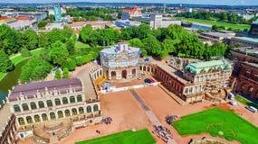 Дворец Zwinger (Der Dresdner Zwinger) Стоковое Фото