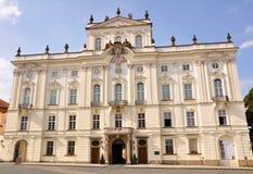 Дворца архиепископа в Праге Стоковая Фотография