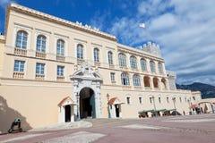 Дворца принца Монако Стоковая Фотография