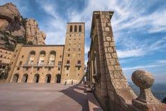 Двор аббатства Монтсеррата Стоковые Изображения RF