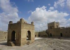 Двор виска огня Ateshgah Zoroastrian стоковое фото