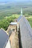 Двор замка Bezdez стоковое фото