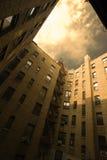 двор здания урбанский Стоковое Фото