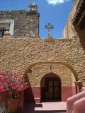 двор католической церкви Стоковая Фотография