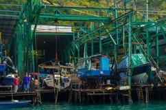 Двор корабля Стоковые Фото