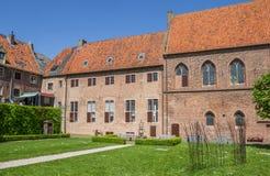 Двор монастыря в Elburg Стоковая Фотография