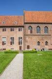 Двор монастыря в Elburg Стоковое фото RF