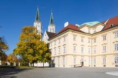Двор монастыря Клостернойбурга в Нижней Австрии Стоковые Фотографии RF