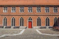 Двор монастыря Frenswegen около Nordhorn Стоковые Изображения