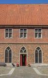 Двор монастыря Frenswegen около Nordhorn Стоковое фото RF