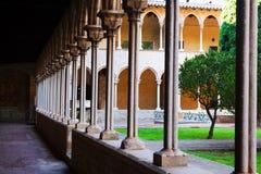 Двор монастыря Pedralbes Стоковое Изображение RF