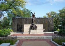Двор на зоопарке Lincoln Park, Чикаго, Иллинойс стоковая фотография rf
