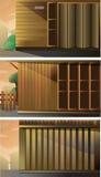 Двор домашней сферы Стоковое Изображение RF