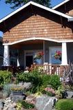 двор перед входом Стоковое Изображение