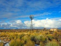 Двор ранчо Стоковые Изображения