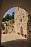 Двор церков. Стоковая Фотография