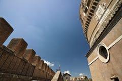 """Двор Castel Sant """"angelo стоковая фотография rf"""