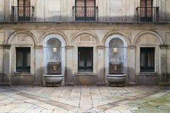 двор el escorial внутренний Стоковые Фото