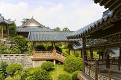 двор guilin фарфора китайский Стоковое фото RF