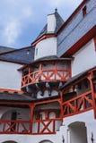 Двор Pfalzgrafenstein Burg Стоковое Изображение