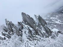 Двуглавый холм стоковые фото