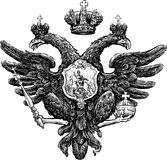 Двуглавый орел иллюстрация штока