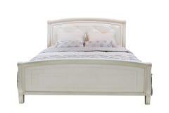 Двуспальная кровать Стоковые Фото