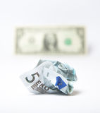 девальвированное евро Стоковые Изображения