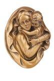 Дева мария держа младенца Иисуса Стоковая Фотография RF