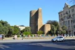 Девичая башня в Баку Стоковые Фотографии RF