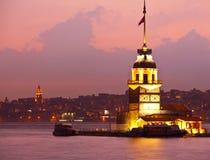 Девичая башня Стоковое Изображение