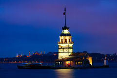 Девичая башня Стоковые Фотографии RF