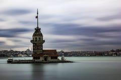 Девичьи башни стоковые фотографии rf