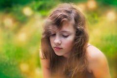 Девочка-подросток Стоковое Изображение RF