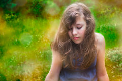 Девочка-подросток Стоковая Фотография RF