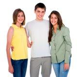 Девочка-подростки подростка обнимая Стоковое Изображение RF