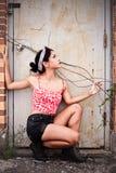 Девочка-подросток Rebelious Стоковая Фотография RF