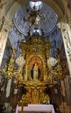 Девственница внутри собора Луго Стоковые Фотографии RF