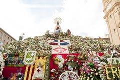 Девственница Сарагоса штендера Стоковая Фотография RF