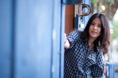 Девушка азиата портрета Стоковые Изображения RF