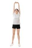 Девушка азиата фитнеса стоковая фотография