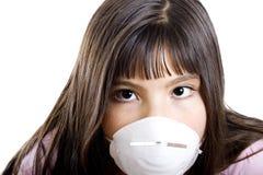 девушка аллергии Стоковые Фотографии RF