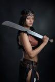 Девушка Амазонки стоковая фотография rf