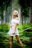Девушка Амазонкы Стоковое Изображение