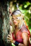 Девушка Амазонкы Стоковые Изображения