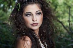Девушка Амазонкы Стоковое фото RF