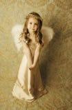 девушка ангела красивейшая Стоковые Изображения RF