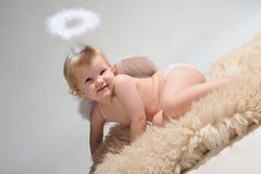 девушка ангела немногая Стоковое Фото