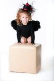 девушка ангела Стоковое Изображение