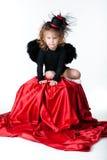 девушка ангела Стоковые Изображения RF